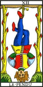 Image de la carte du Pendu