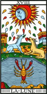 Image de la Lune du Tarot