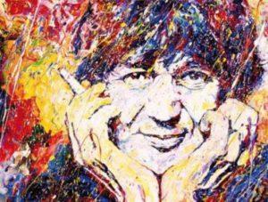 Portrait de Jacques Higelin pour rendre hommage à l'artiste sujet de l'article