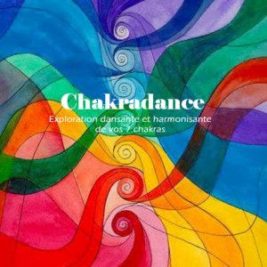 Bouton de clic pour accéder à la page chakradance